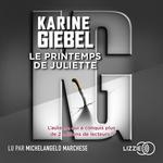 Vente AudioBook : Le Printemps de Juliette  - Karine Giébel