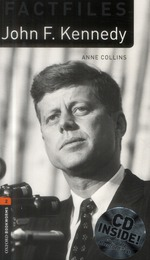 Obwl 3e level 2: john f kennedy factfile audio cd pack