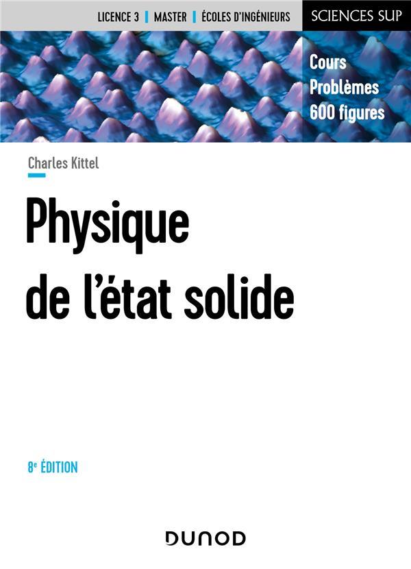 Physique de l'état solide (8e édition)