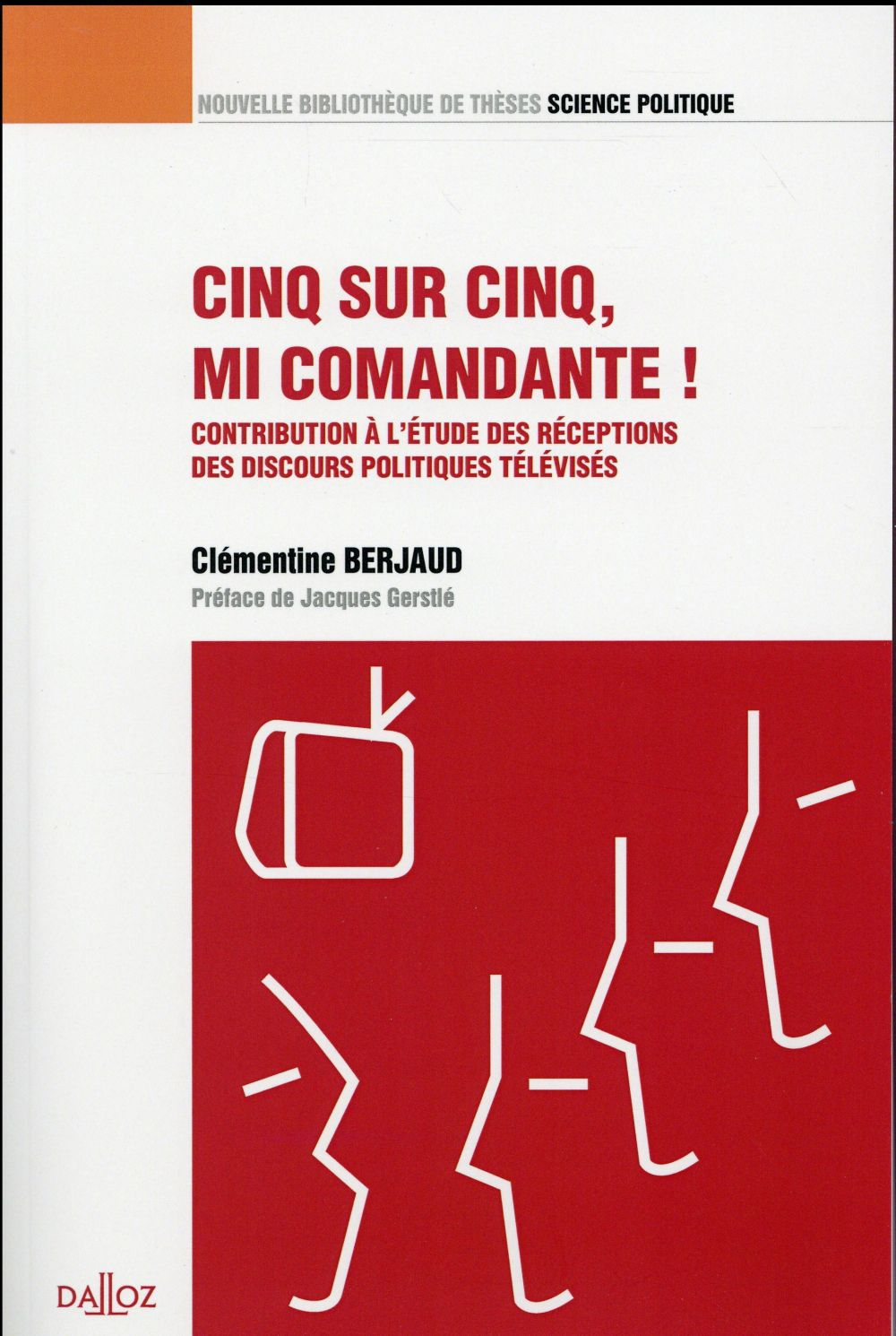 Cinq sur cinq, mi Comandante ! contribution à l'étude des réceptions des discours politiques télévisés
