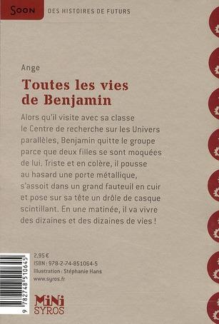 Toutes les vies de Benjamin