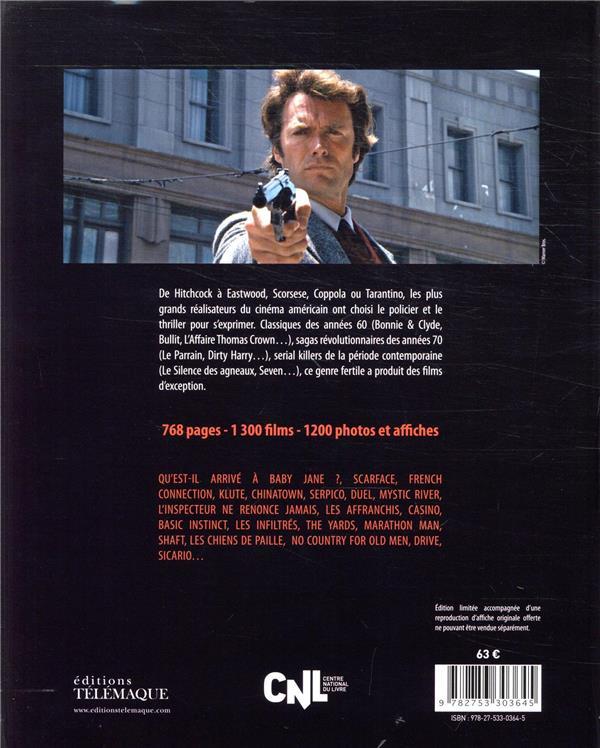 Encyclopédie du film policier & thriller t.2 ; USA, 1961-2018