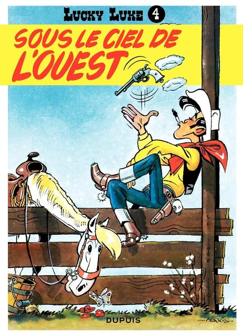 Lucky Luke T.4 ; sous le ciel de l'ouest