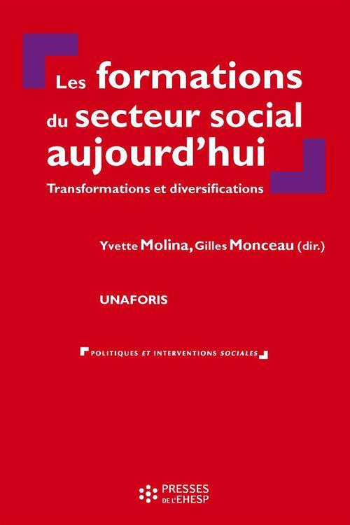 les formations du secteur social aujourd'hui ; transformations et diversifications