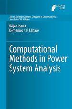 Computational Methods in Power System Analysis  - Reijer Idema - Domenico J.P. Lahaye