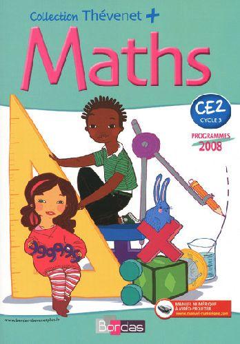 Thevenet + Maths Fichier Ce2 Prog 2008
