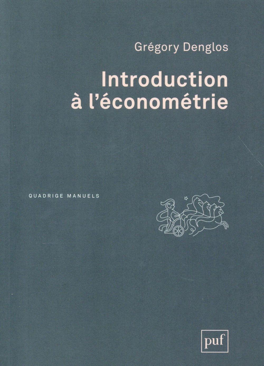 Introduction A L'Econometrie