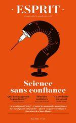 Vente Livre Numérique : Esprit - Science sans confiance  - Camille Riquier - Jean-Louis Schlegel - Isabelle STENGERS