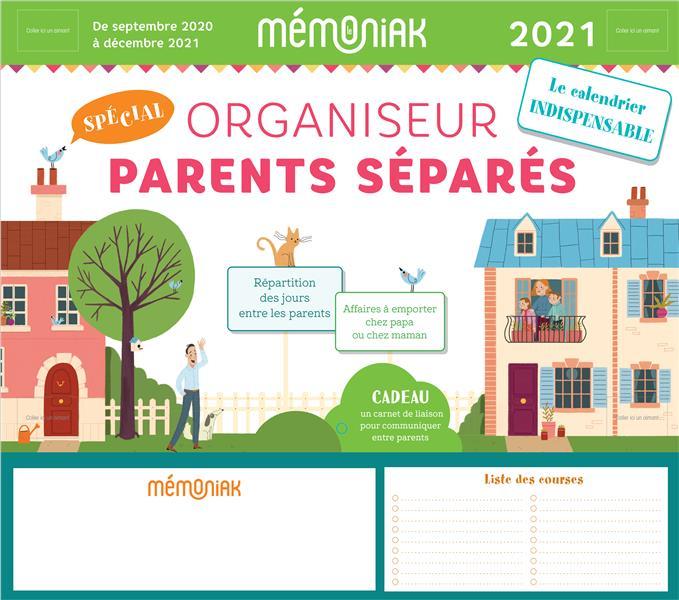 ORGANISEUR PARENTS SEPARES MEMONIAK 2020-2021 EDITIONS 365