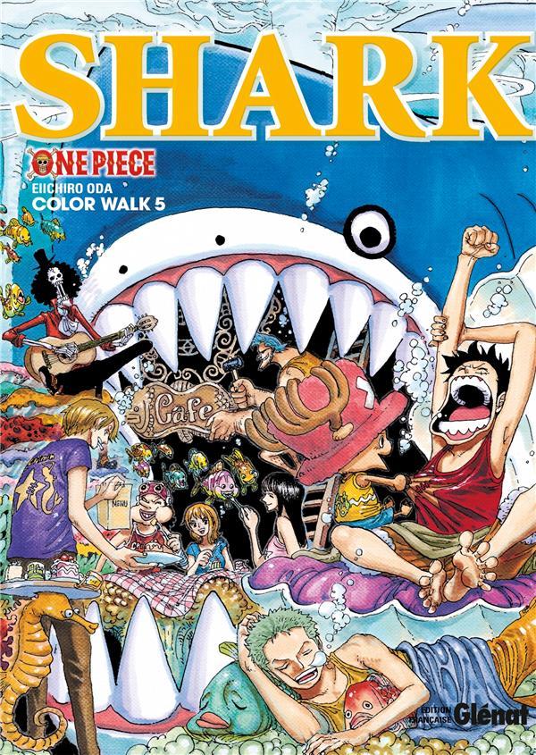 One Piece - color walk T.5 ; shark