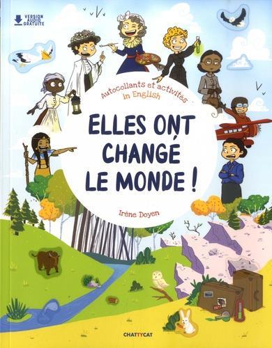 ELLES ONT CHANGE LE MONDE ! - AUTOCOLLANTS ET ACTIVITES IN ENGLISH
