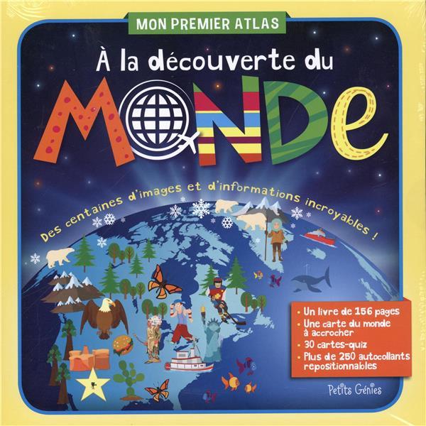 Mon premier atlas ; à la découverte du monde