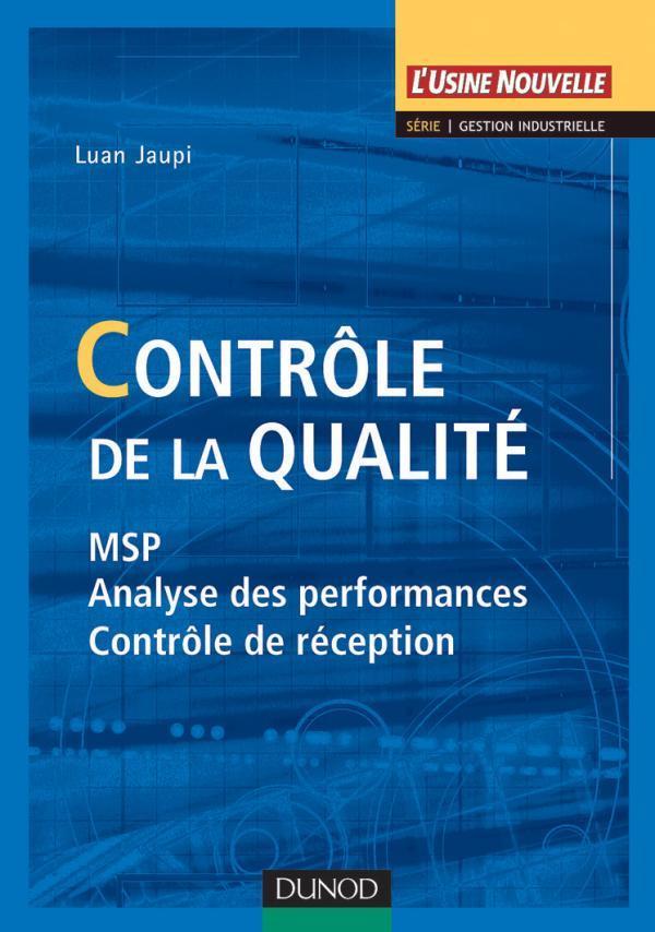 Controle De La Qualite ; Msp Anallyse Des Performances Et Controle De Reception