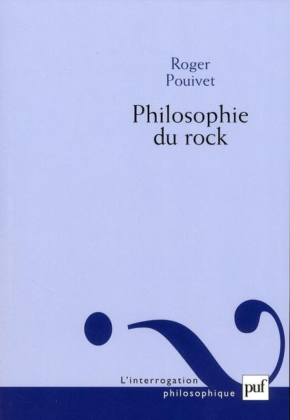 Philosophie du rock