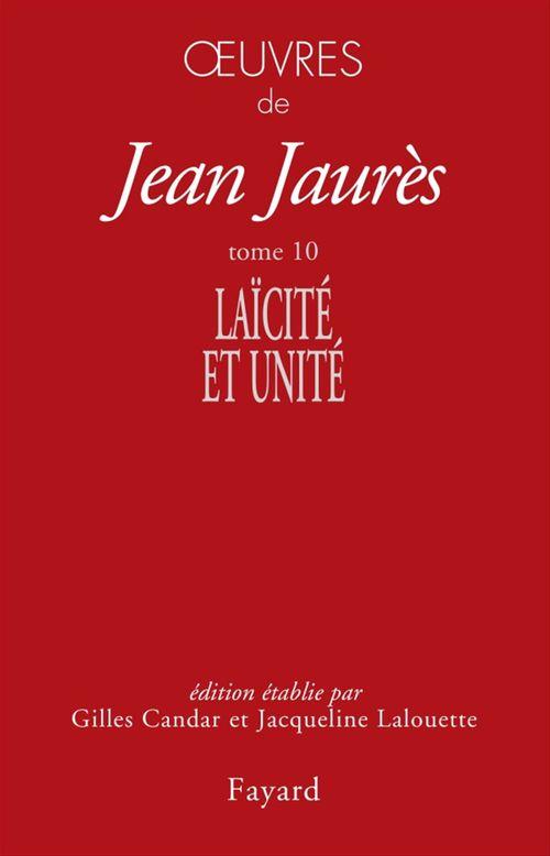 Vente EBooks : Oeuvres tome 10  - Jean Jaurès