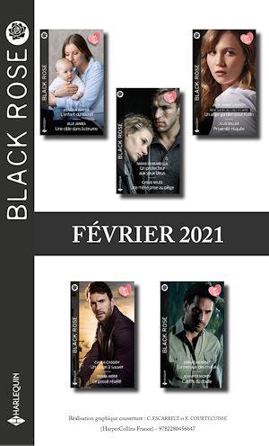 Pack mensuel Black Rose : 10 romans (Février 2021)  - Collectif