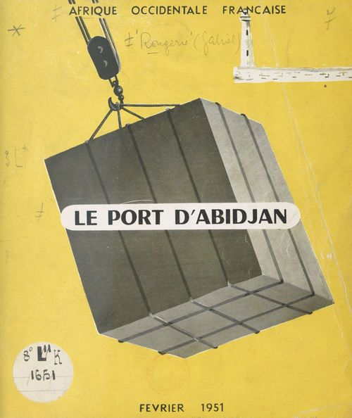 Le port d'Abidjan