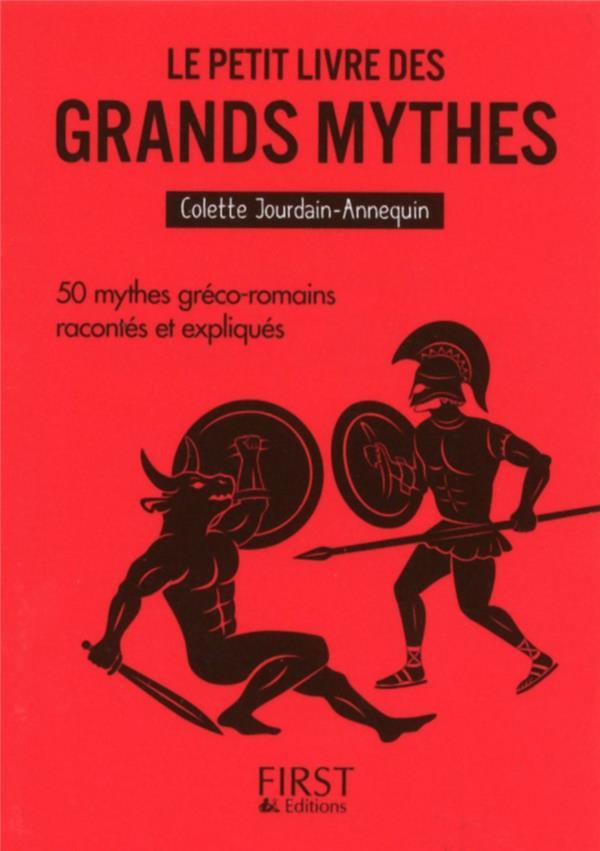 Annequin Colette - LE PETIT LIVRE DE - LES GRANDS MYTHES