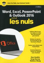 Vente Livre Numérique : Word & Excel Powerpoint & Outlook 2016 (2e édition)  - Ken COOK - Laurie ULRICH FULLER - Doug LOWE - Dan Gookin
