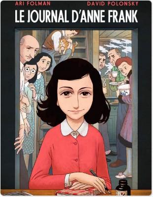 Le Journal d'Anne Frank - Roman graphique  - Frank Anne  - Ari Folman  - David Polonsky