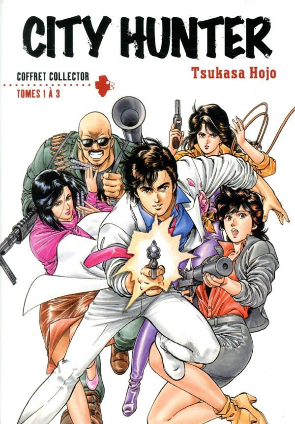 City Hunter ; COFFRET T.1 A T.3