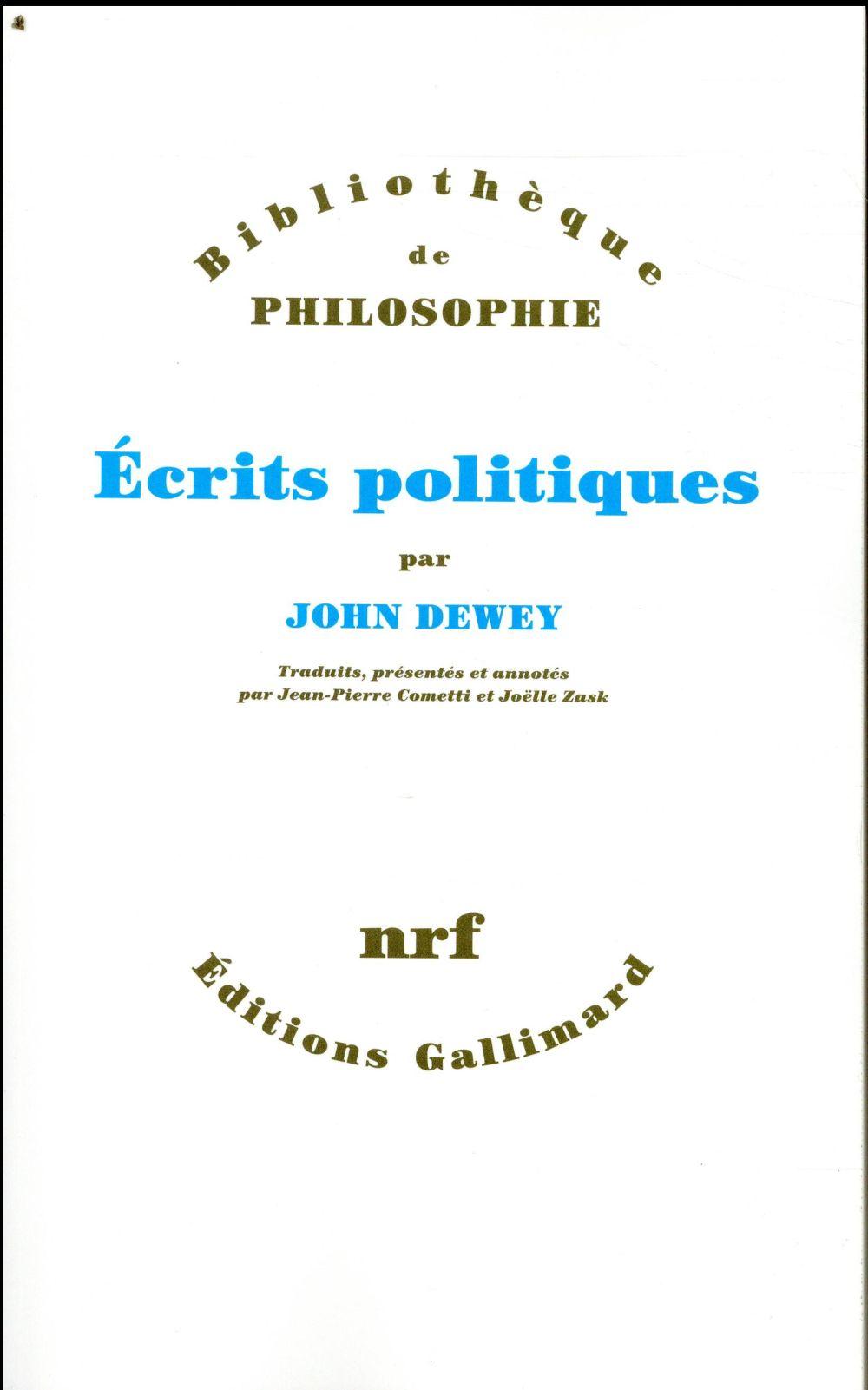 écrits politiques