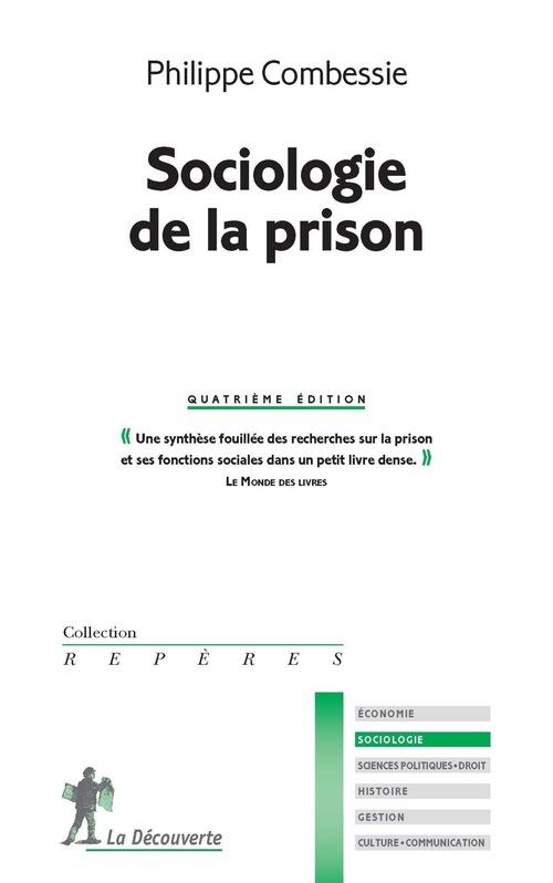 Sociologie de la prison (4e édition)