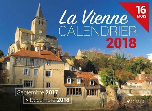 Calendrier ; la Vienne ; septembre 2017 /décembre 2018 ; 16 mois