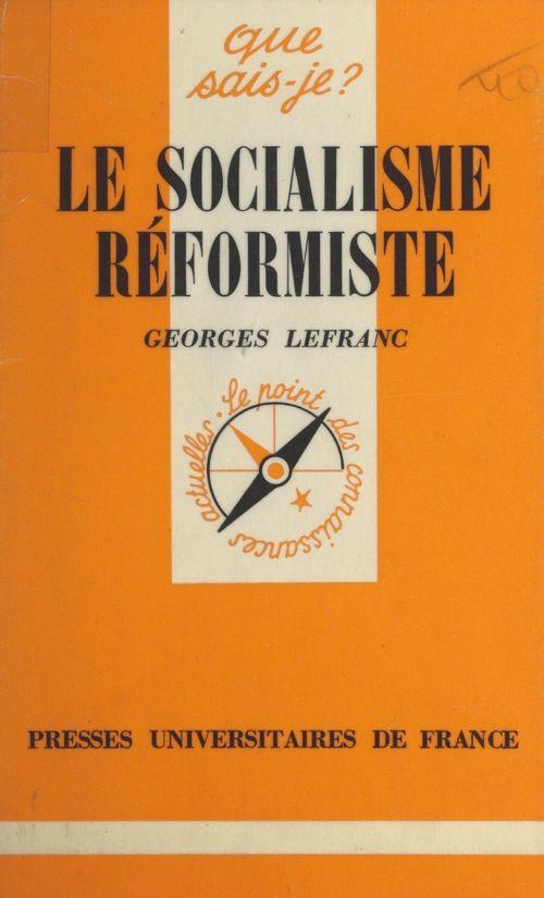 Le socialisme réformiste