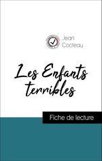 Vente Livre Numérique : Les Enfants terribles de Jean Cocteau (Fiche de lecture de référence)  - Jean Cocteau