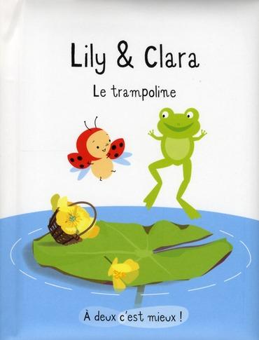 Lily et Clara ; le trampoline