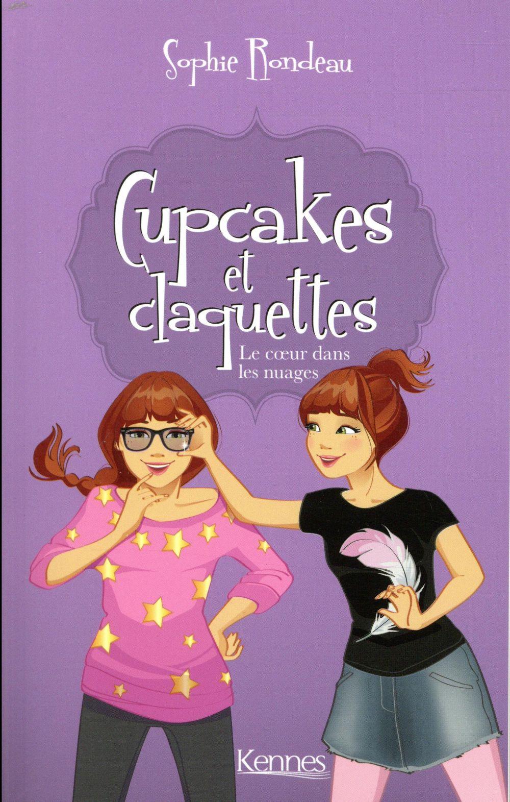 Cupcakes et claquettes T.4 ; le coeur dans les nuages