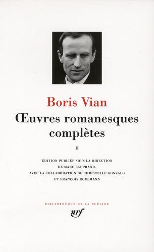VIAN, BORIS - OEUVRES ROMANESQUES COMPLETES - VOL02