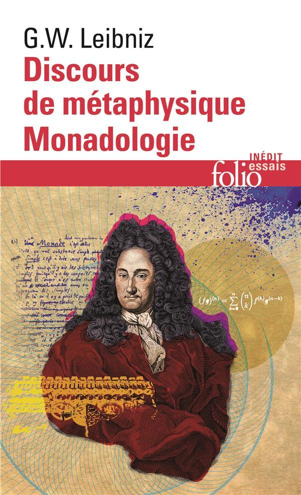 Discours de metaphysique/monadologie et autres textes