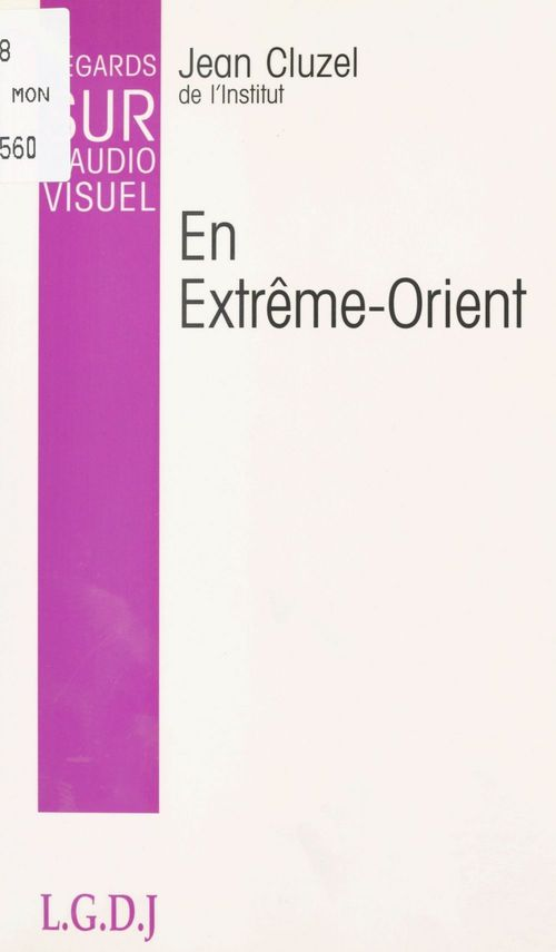 Regards sur l'audio visuel en extreme orient