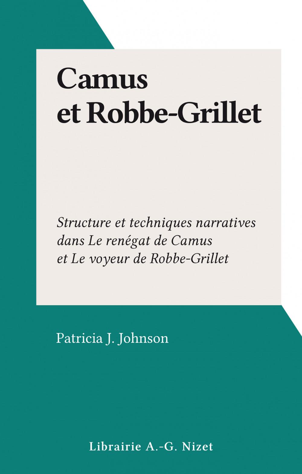 Camus et Robbe-Grillet