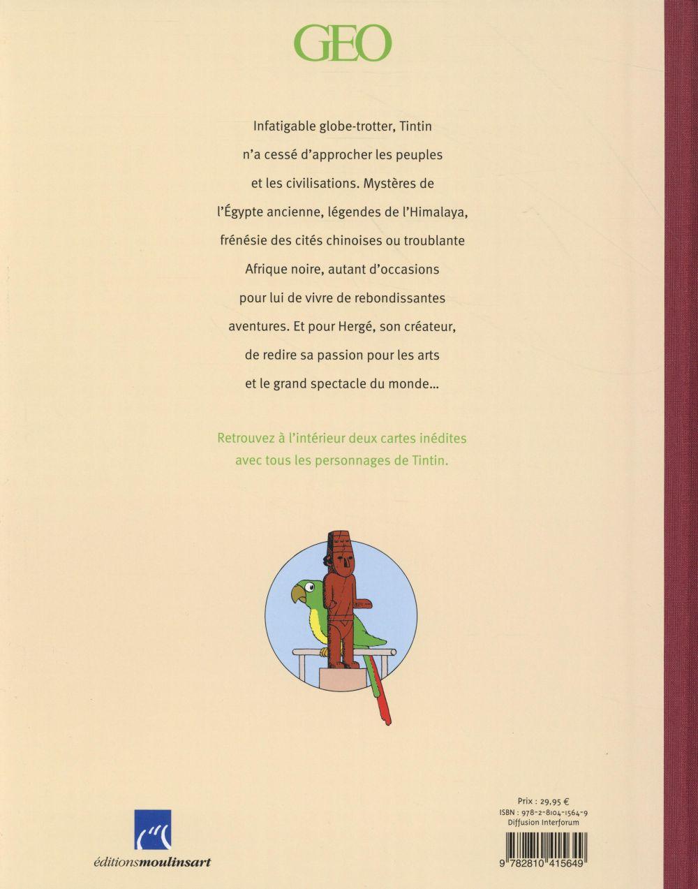 Tintin ; les arts et les civilisations vus par le héros d'Hergé