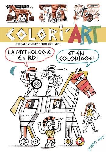 Coliri'art ; la mythologie en BD et en coloriage !
