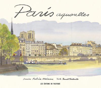 Paris aquarelles 2020