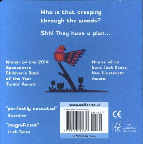 Shh! we have a plan - board book