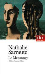 Vente Livre Numérique : Le Mensonge  - Nathalie Sarraute
