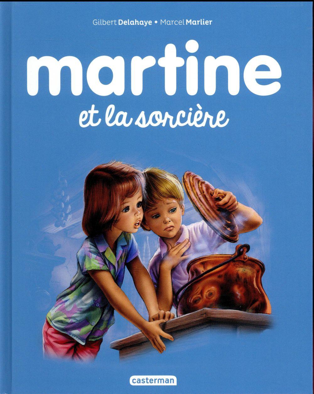 Les plus belles histoires de Martine T.39 ; Martine et la sorcière