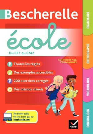 Bescherelle ; école ; du CE1 au CM2