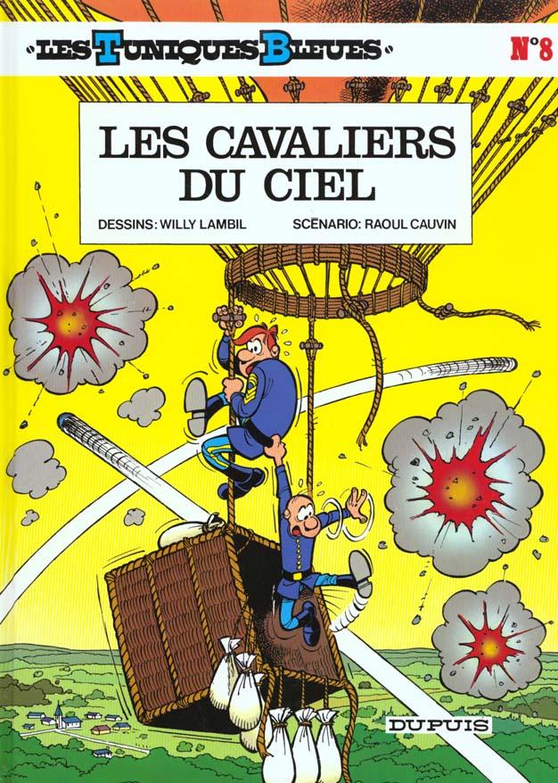 Les Tuniques Bleues T.8 ; Les Cavaliers Du Ciel