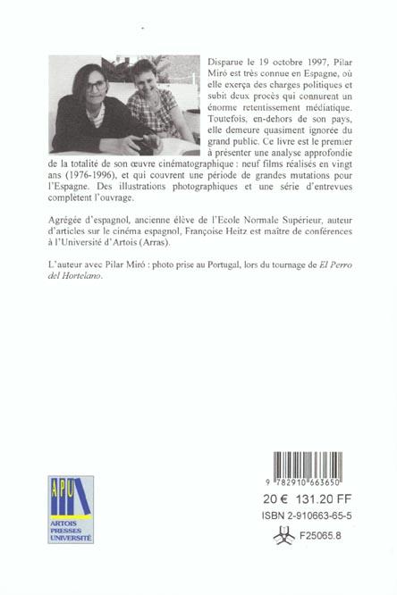 pilar miro 20 ans de cinema espagnol