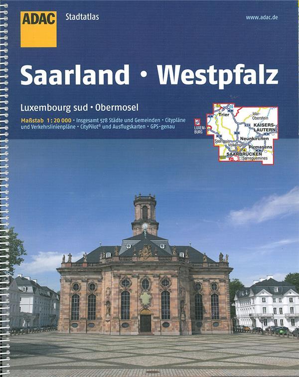 atlas saarland ; Lusembourg sud, Obernosel