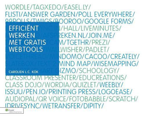 Efficient werken met gratis webtools - - ebook