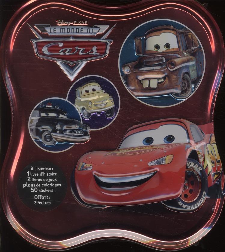 Cars ; Grande Boite Metal