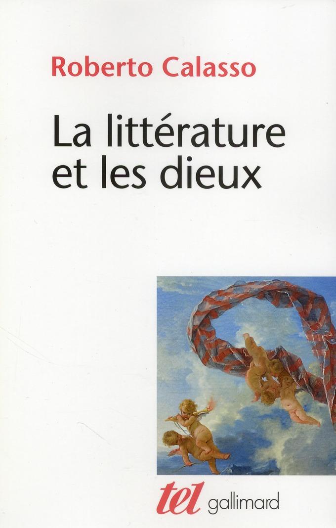 La litterature et les dieux