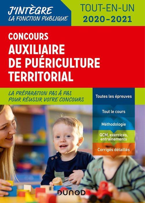 Concours auxiliaire de puériculture territorial ; tout-en-un ; concours externe (édition 2020/2021)